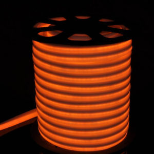 12V/24V/110V/220V Orange Flexible LED Neon Light