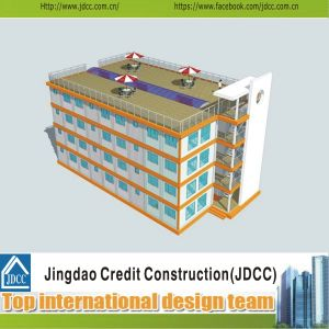 Low Cost and Fast Construction of Prefabricated Hotel pictures & photos