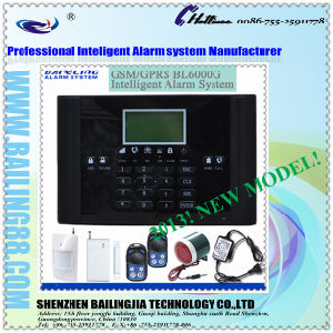 Hot on Sale Bl6000g Large LCD Display GSM Alarm System, SMS/MMS/Calling Host (BL-m-6000G)