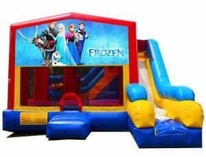 Frozen Bouncy Slide Inflatable Bounce Slide Jw0628-1 pictures & photos