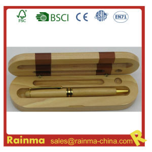 Metal Wooden Ball Pen in Wooden Gift Box pictures & photos
