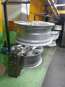 Conveyor Powder Coating Line for Car Rims pictures & photos