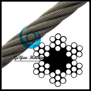 Ungalvanized 6*7 Sand Wire Rope with Diameter 32mm pictures & photos