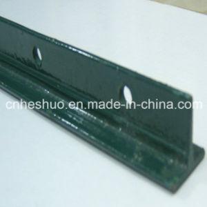 Best Selling 10 FT Black Varnished Steel Posts for USA Market pictures & photos