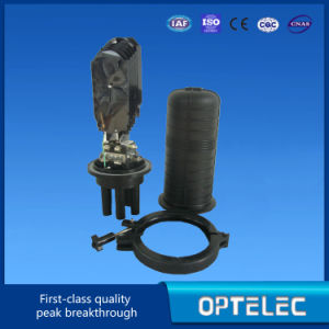 Fiber Optic Splice Closure 3inlets and 3 Outlet Optics pictures & photos