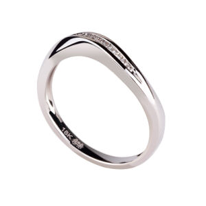 K Series 925 Silver Ring With Diamond (928-9)