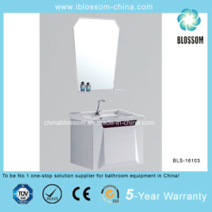 Home & Hotel Wall Mounted PVC Bathroom Vanity, Cabinet (BLS-16103) pictures & photos