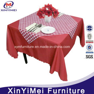 Durable Restaurant Polyester Square Table Cloth pictures & photos
