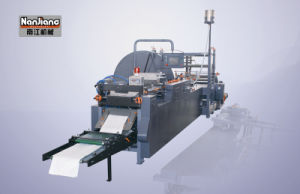 Flat and Satchel Paper Bag Machine with Window Wfd-600 pictures & photos