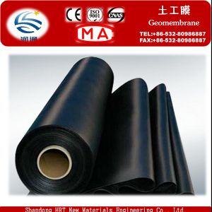 CE Approved Black 0.3-3.0mm HDPE/LDPE Geomembrane Liner, PVC Geomembrane pictures & photos