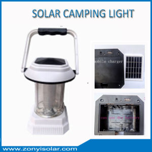 Solar Camping Light with Mobile Charger New Model pictures & photos