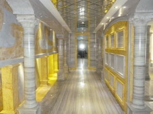 Luxury Golden River Marble for Wall/Floor/Steps Interior Decoration pictures & photos