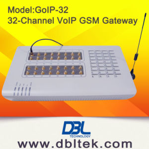 32 Channel GoIP GSM Gateway with IMEI Change Avoid SIM Block pictures & photos