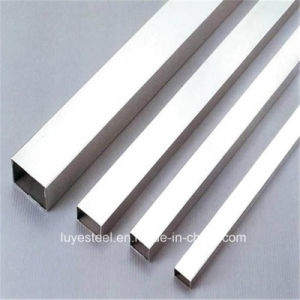 Stainless Steel Rectangular Tube Seamless Pipe 410 304 202 pictures & photos