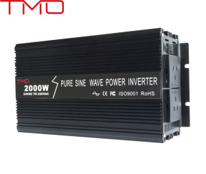 DC to AC Power Inverter 2000W, off Grid Pure Sine Wave Inverter 2kw pictures & photos