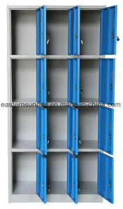 Wholesale Dormitory 12 Door Strong Metal Steel Locker/Wardrobe pictures & photos