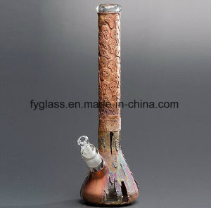 Copper Plating on Glass Water Pipe with Different Designs pictures & photos