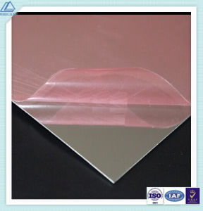 1070 Aluminum/Aluminium Polished/Reflective/Polished/Mirror Sheet with 90% Reflection pictures & photos