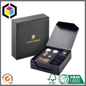 Magnet Close Gold Foil Logo Cardboard Gift Packing Box pictures & photos