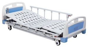 Super Low Electric Three Functions Hospital Bed (SK-EB110) pictures & photos