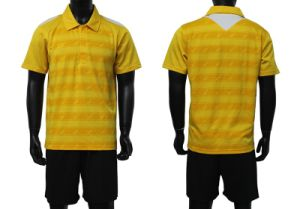Cheap Soccer Team Set Clothing Sublimated Custom Soccer Football Jersey Uniform Shirts pictures & photos