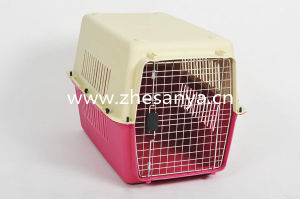 China Cheap Pet Carrier with Door for Dogs and Cats pictures & photos