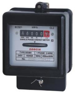 Dd284 Single-Phase Mechanical Watt Hour Energy Meter