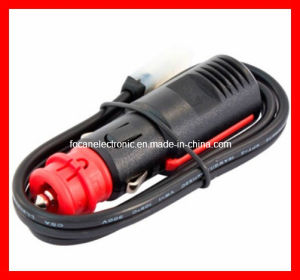 Red Head Germany Car Cigarette Lighter Plug with Cable and Connector/Car Adapter Plug/Auto Cigarette Lighter Plug pictures & photos