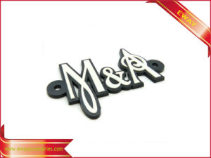 Garment Rubber PVC Label 3D Mould Rubber Label pictures & photos