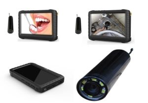 Wireless 2.4GHz Mini Inspection Camera for Pipe/Sewer/Endoscope (2.4GHz, mini size, 6 PCS LED lights) pictures & photos
