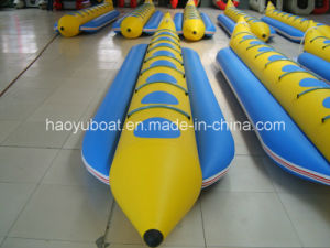 7.0 Meter Banana Boat for Sale, Florating Boat for Leure with PVC or Hypalon Tube pictures & photos