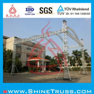 Aluminum Stage Quick Arc Truss for Performance, Stage Decoration, Stage Lighting Speaker Truss Project pictures & photos