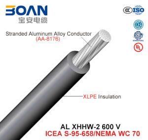 Al Xhhw-2, Building Wire, 600 V, Al/XLPE (UL44/ICEA S-95-658/NEMA WC70) pictures & photos