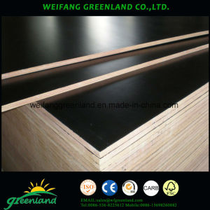 21mm Two Time Hot Press Quality Fillm Faced Plywood with Black Film pictures & photos