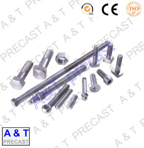 Stainless Steel/Square/ T Head Bolt Parts with High Quality pictures & photos