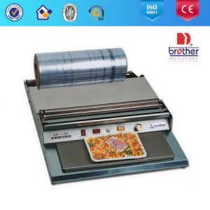 Cling Film Tray Wrapping Sealer pictures & photos