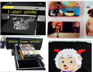 Cheap A4 Size Flatbed Printer Phone Case Digital Flatbed Printer Phone Cover Flatbed Printer pictures & photos