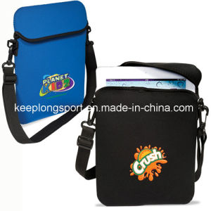 Cuztomized Neoprene Laptop Sleeve with Shoulder Belt