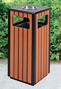 Eco-Friendly Open Top Outdoor Rubbish Barrel (GPX-94S) pictures & photos