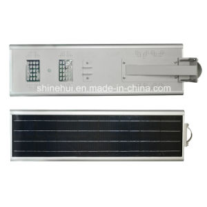 PIR Sensor All Ine One Integrated Solar LED Street Lamp with Ce RoHS pictures & photos