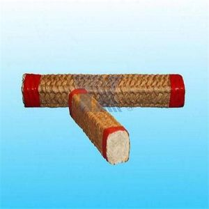 Ceramic Fiber Square Braided Rope Coated Vermiculite pictures & photos