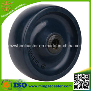 High Quality 6inch Solid PU Wheels (130-650kg) pictures & photos