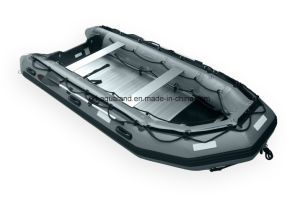 Aqualand 14feet Inflatable Rescue Boat/Military Boat/Rubber Boat (425) pictures & photos