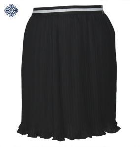 Ladies Latest Polyester Chiffon Pleated Skirt (LDS-30)