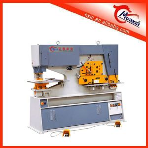 Machinery Sales on Line of Huafeng Brand Hydraulic Iron Worker pictures & photos