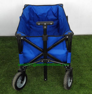 Outdoor Heavy Duty Multi Directions Folding Utility Wagon Black, Blue pictures & photos
