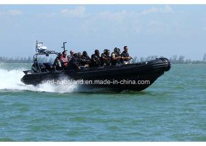 Aqualand 35feet 10.50m Rigid Inflatable Patrol Boat/Military Rib Boat (RIB1050) pictures & photos