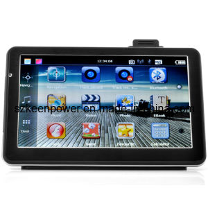 7 Inch Touchscreen Car GPS with DVR, Bluetooth, FM Radio Transmitter pictures & photos