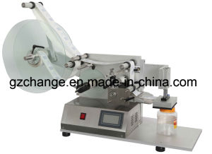 Semiauto Flat Bottles Labeling Machine pictures & photos