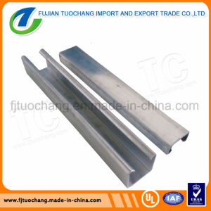 Hot Dipped Galvanized Slotted Channel Steel Strut Channel pictures & photos